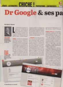 Un article dans Marianne Belgique