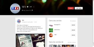 La page officielle de TF1